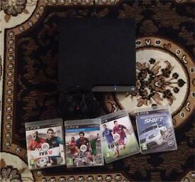 PlayStation 3 120gb & 4 games EXCELLENT CONDITION BARELY USED. QUICK SALE £55