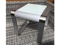 Gorgeous - Brushed Aluminium - Side / Coffee Table.