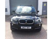 Stunning 2007 BMW X5 3.0 D SE HUGE spec extras inc Pan Roof ,central heating FULL BMW HIST mot Nov,