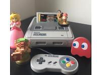 Fully Working Super Nintendo (SNES) with Super Mario All Stars