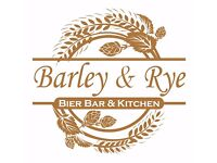 Part-time Bar & Waiting Staff wanted for 'Barley & Rye – Bier Bar & Kitchen'