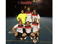 5-a-side football teams and individuals wanted at Battersea Wednesday and Thursday leagues!