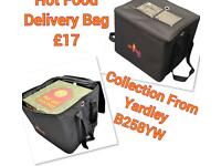 Heavy duty hot food delivery bag