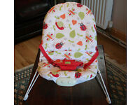 Red Kite Little Bugs Baby Bouncer Cradle Chair Seat;0-6 months;music & vibration,excellent condition