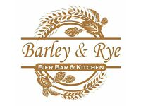 Part-time Bar & Waiting Staff for 'Barley & Rye' in Cardiff Centre