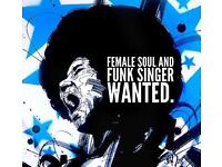 Soulful female singer wanted