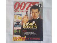 James Bond 007 Spy Files magazine - complete set