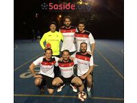 Team spaces available for our new Putney 5-a-side football season!