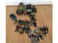 ***FOR SALE ARMY MEN, DUNE BUGGY, JEEP, QUAD BIKE, MOTOR BIKES, DiNGY & WEAPONS***