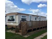 Caravan for hire/rent 6 & 8 BERTH NR FANTASY ISLAND SEPT 15th-22nd £225
