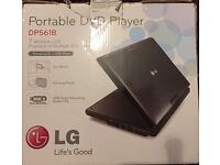 LG portable DVD player