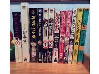 Manga Comic Books Collection