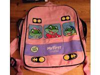 Leap Frog mini school bag