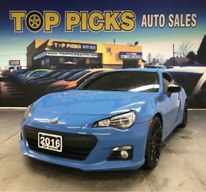 2016 Subaru BRZ Hyper Blue Hikari Edition, One Owner!