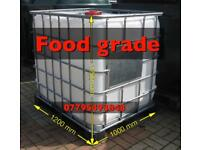 RO PURIFIED WATER STORAGE IBC TANK 1000 litre