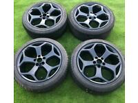 "FORD FOCUS ST 18"" ALLOYS & TYRES ST2 18 INCH S MAX TRANSIT CONNECT ALLOY WHEELS"