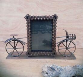 Fair Trade 'Bike Chain' Picture / Photo Frame Gift