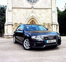 stunning Audi A4 S-LINE styling + Garmin Sat Nav + Full Dealer Service History