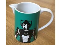 Dr Who / Doctor Who - CYBERMAN - contemporary ceramic jug by BBC