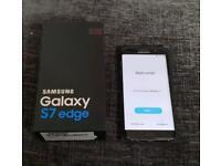 Samsung galaxy s7 Edge 32GB unlocked black
