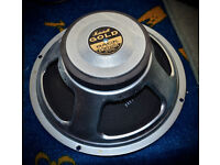 "Used Marshall Celestion 'Gold Back' 12"" Guitar Speaker chassis 100 watt 16 ohm"