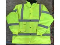 BRAND NEW HIGH VISIBILITY JACKET