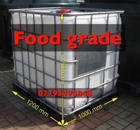 Ibc animal water tank