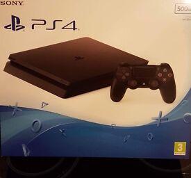 PS4 Slim **sealed in box brand new** £200