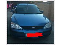 03 plate mondeo