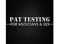 PAT Testing for Musicians & DJs