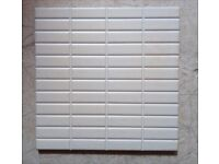 Tiles, beige/cream, matt finish, square 20*20cms( About 50 in no.)