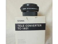 Sigma TC-1401 Tele Converter