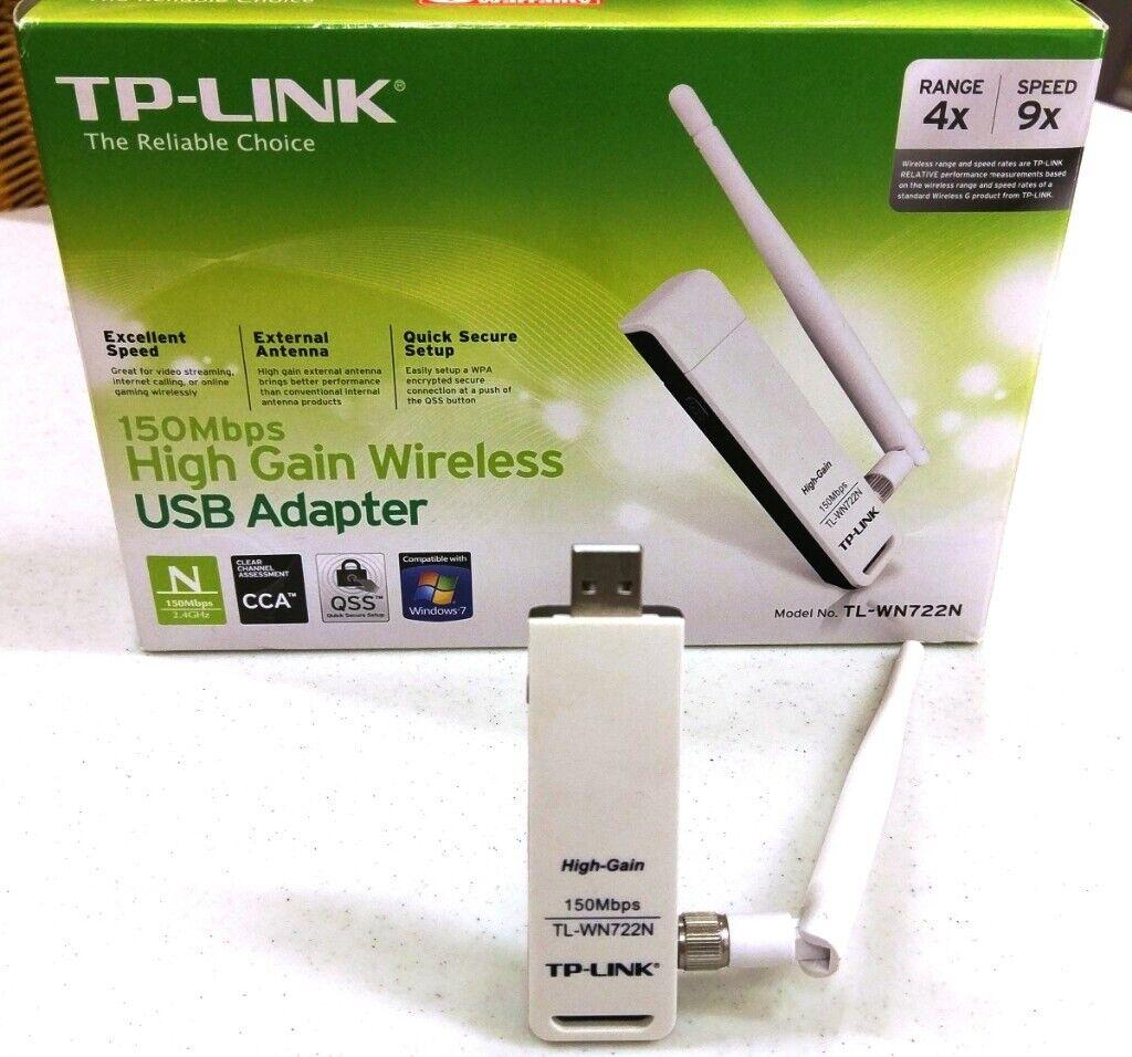 TP-Link 150Mbps High Gain Wireless USB Adapter | in Milton Keynes,  Buckinghamshire | Gumtree