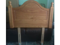 Single Wooden Headboard