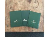 Rolex card wallet