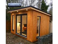Garden Rooms, Summer Houses and sheds