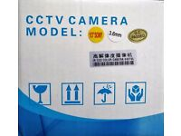 Brand New 540TVL 540 TVL CCTV Dome Camera 3.6mm 1/3 Sony CMOS Lens White Indoor IR Day Night PAL UK