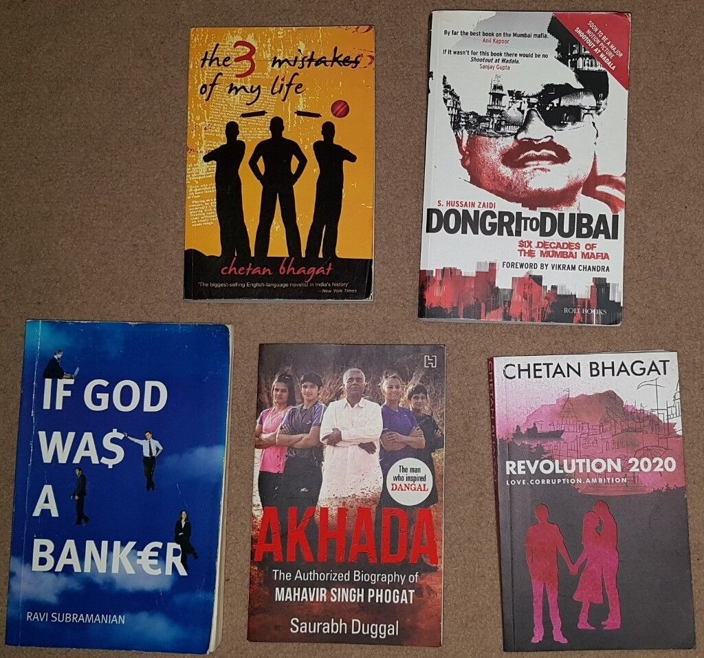 Chetan bhagat and Other Indian Fiction