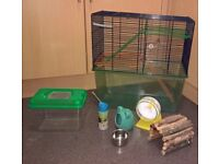 gerbil cage and accessories,great condition