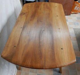 Refurbished Ercol drop leaf dining table model 377