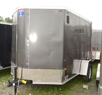 2015 Interstate 6x10 Enclosed Cargo Trailer SFC6X10SAFS