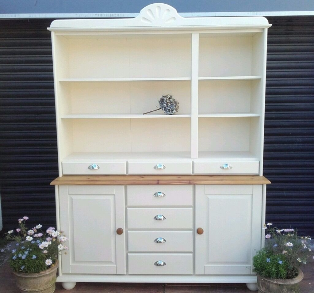 Kitchen Sideboard Solid Pine Dresser Kitchen Unit Welsh Dresser Sideboard Shabby
