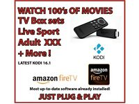 NEW AMAZON FIRE STICK LATEST KODI 16.1 ✔️TV BOXSETS✔️100'S MOVIES✔️TV✔️LIVE SPORT✔️