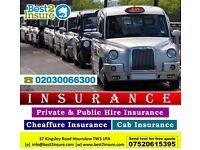 PCO Taxi Insurance, Mini Cab Insurance, Chauffeur Insurance - Cheapest Deals