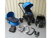iCandy Peach 3 in COBALT !! FULL TRAVEL SYSTEM!!