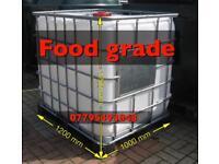 Water storage tank IBC