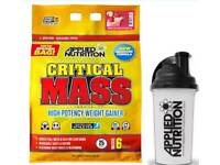 Applied Nutrition Critical Mass 6KG Bag with a Free Shaker Included