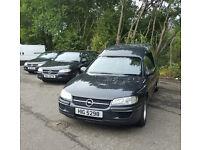 Funeral Fleet Hearse & 2 x Limousine Omega Vauxhall MOT'd 06/2017 Private Plates