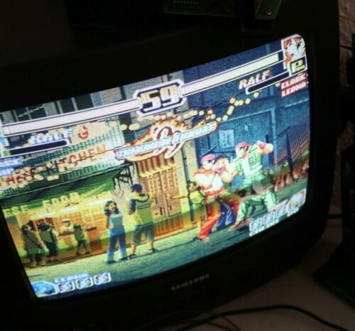 The King of Fighters 99´Neo Geo MVS SNK  Authentic Please Read  RARE COLOR BLUE