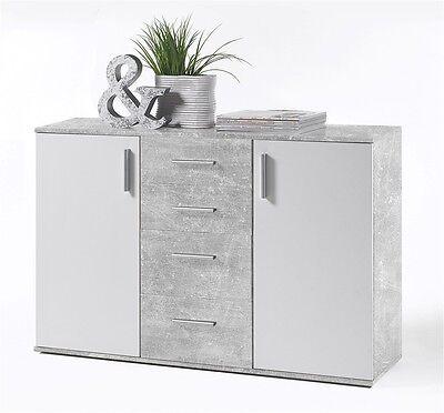 sideboard kommode weinschrank wei landhaus stil massiv holz mobel neu finca. Black Bedroom Furniture Sets. Home Design Ideas